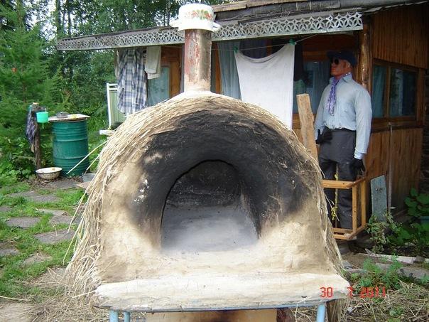Печка чистая