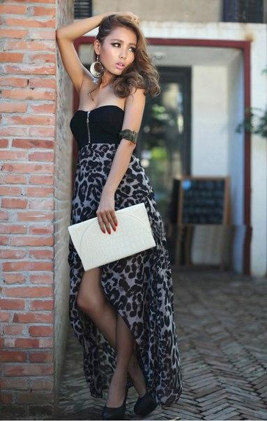 Длинное шифоновое платье пляжное.  945 pxРазмер.