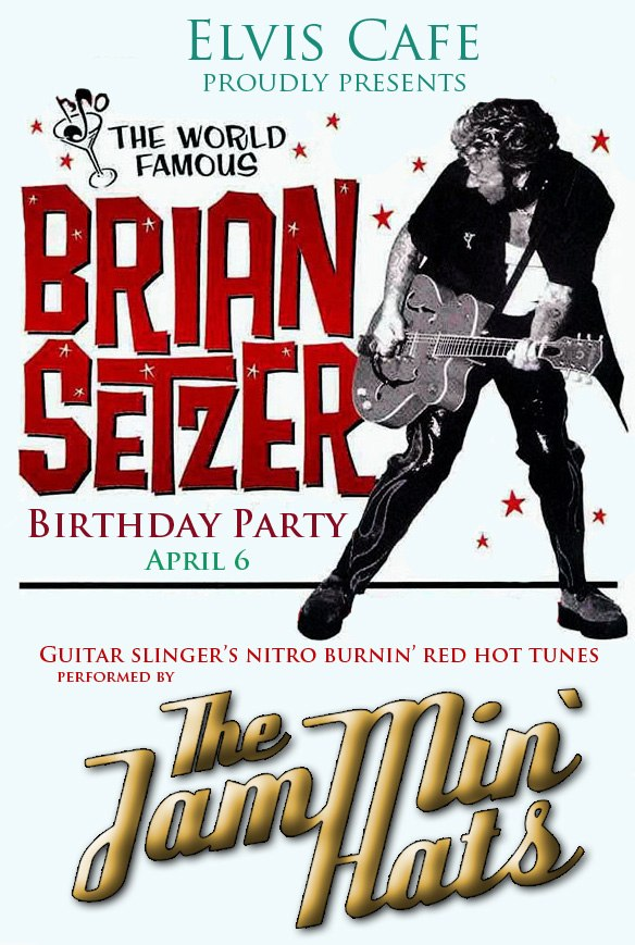 06.04 Brian Setzer B-Day Party