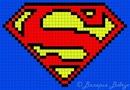 В этом уроке мы будем плести фенечку по схеме супермен.