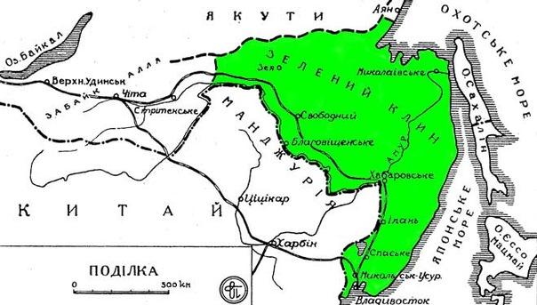 Территория Зелёного Клина