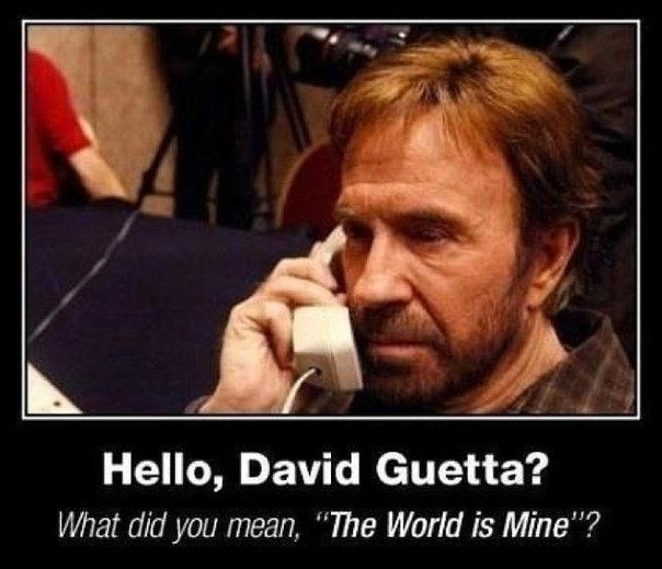 norris guetta world is mine