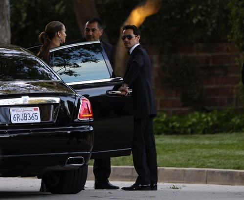Jennifer Lopez And Marc Anthony Roll In Style