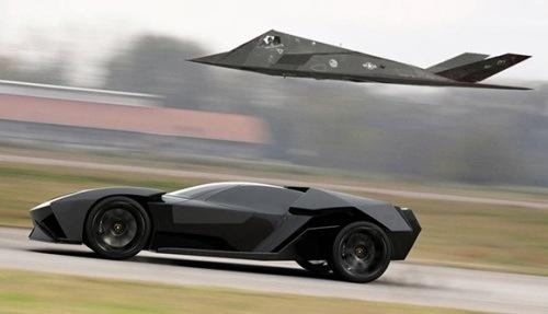 Lamborghini Ankonian Concept Photos