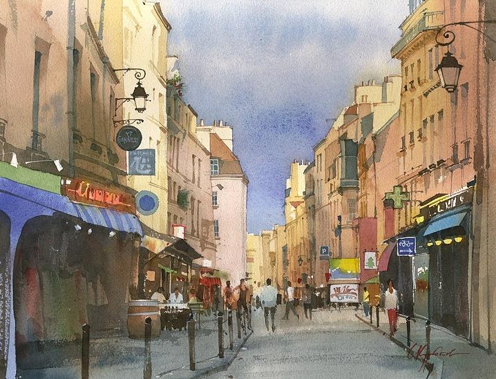 Однажды летом в Париже,