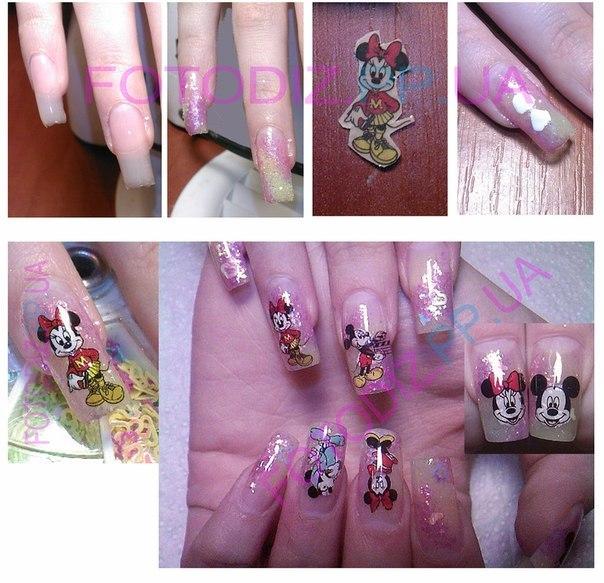 Сделать наклейки на ногти в домашних условиях