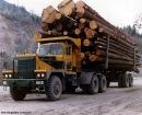 Грузовики kenworth в россии - лесовозы - Американские