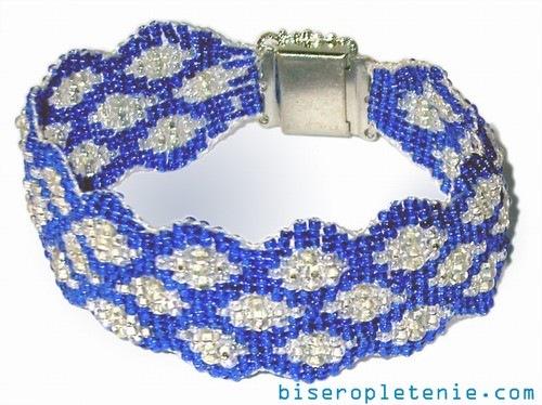 бисер схемы браслетов для