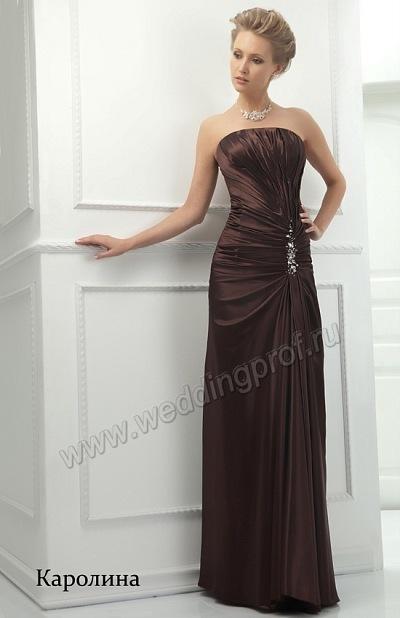 длинные вечерние платья в пол