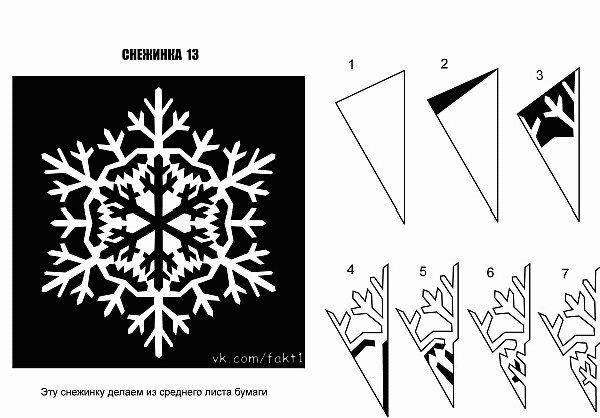 Простое занятие, такое, как вырезание снежинки может превратиться в инетреснейшее занятие.  По схемам, которые я...