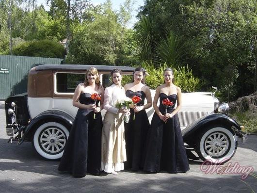 Свадьба в духе сицилийской мафии.