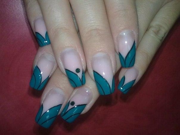 красивые ногти фото: