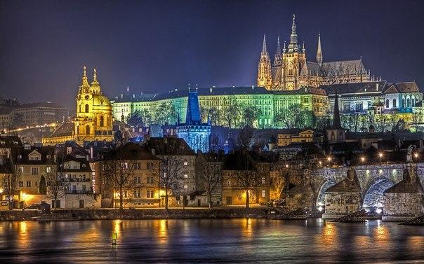 Прага praha — столица чехии один из