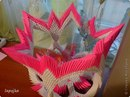 Мастер-класс Оригами модульное: Ваза с бабочками Бумага.  Фото 27.
