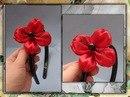 Любовь Златова. добавлена 26 сентября в 22:05.  0. Цветок из атласной ленты своими руками (мастер-класс) - http...
