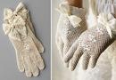 как сшить самой свадебные перчатки.