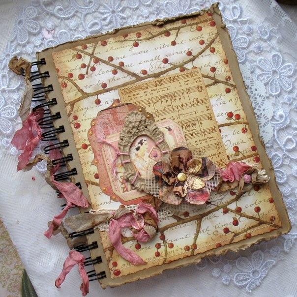 Как украсить дневник своими руками снаружи 47