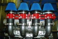 Правильная доводка системы впуска поможет значительно увеличить мощность двигателя как на низких.