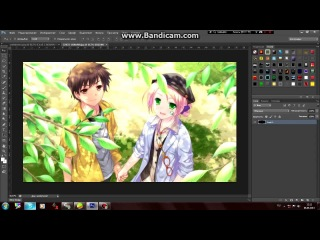 Уроки по Photoshop cs6: Создание шапки в стиле AniTube su
