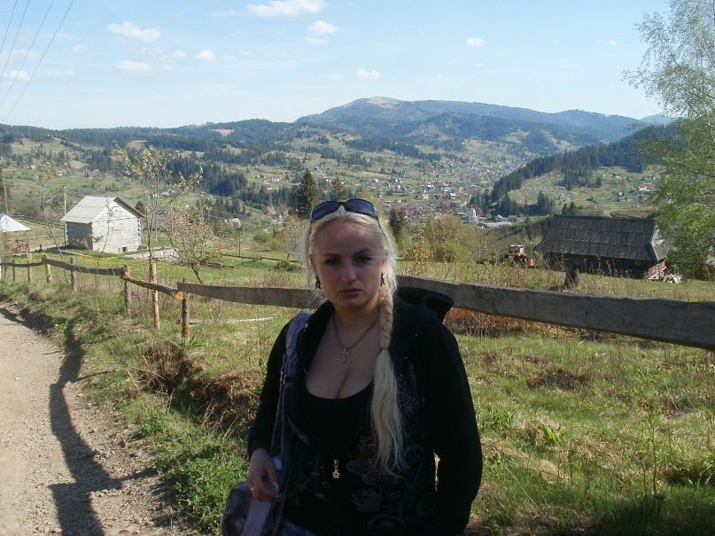 Мои путешествия. Елена Руденко. Карпаты. Славское.  май 2011г. Y_6c35afde