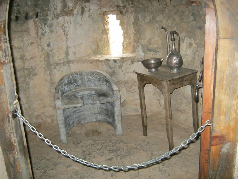 Туалет в грузинском замке