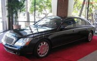 Maybach Sixtytwo