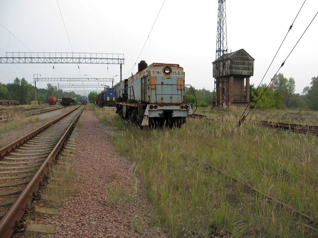 Железнодорожная станция Янов