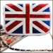 Сумка женская 1021_100 в стиле Chanel британский флаг c паетками.
