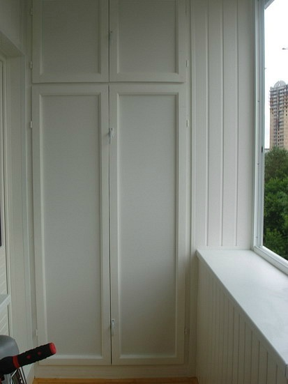 Наши работы по отделке балконов и лоджий.