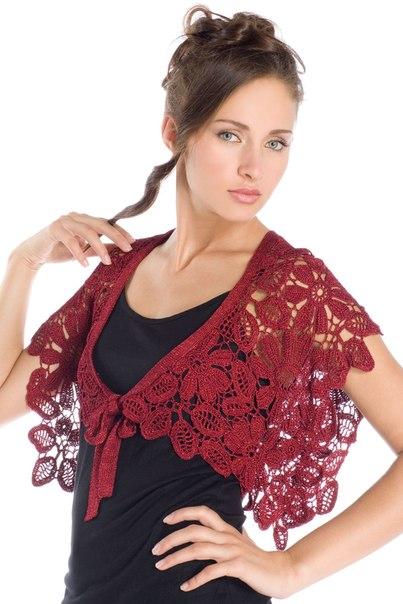 Вязание пуловера для девочки на спицах