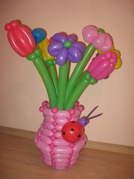Оформление воздушными шарами детские