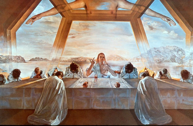 Картина Сальвадор Далі 12 апостолів