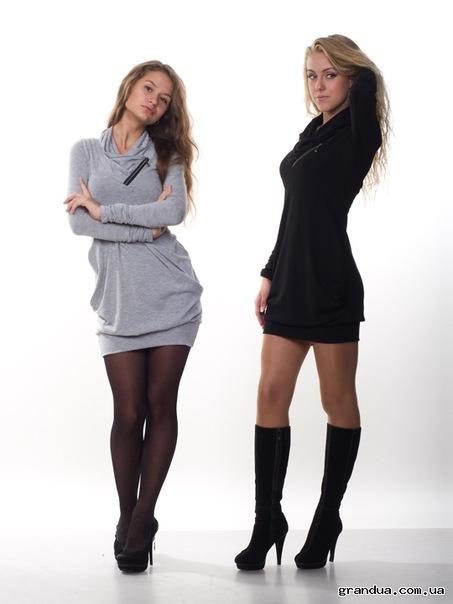 Платье черное 44р GRANDUA.  Фотография 1.