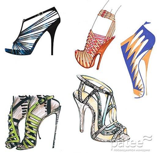 Модные Туфли 2014 Женские