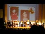 Первоклассники читают стихотворения про замечательных выпускников 2013