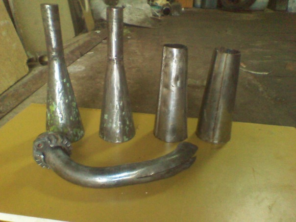 Как сделать из трубы конус