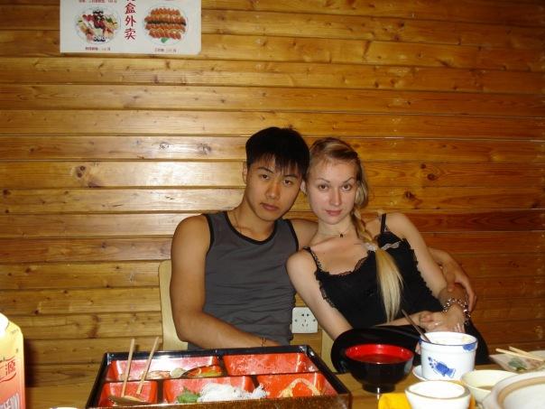 俄罗斯美女在中国哈尔滨美女哈尔滨的俄罗斯美女