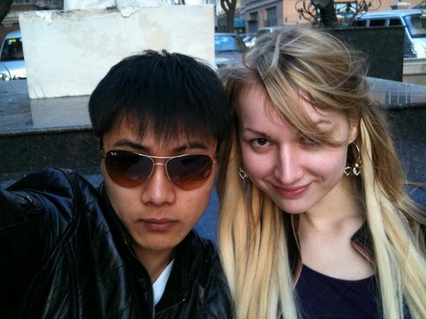俄罗斯美女和中国男友生活在哈尔滨多图