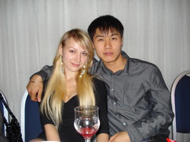 俄罗斯美女和中国男友生活在哈尔滨(多图)