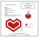 Хочу поделится с вами схемками сердечкек к дню св. Валентина.  Ведь скоро они все равно пригодятся.