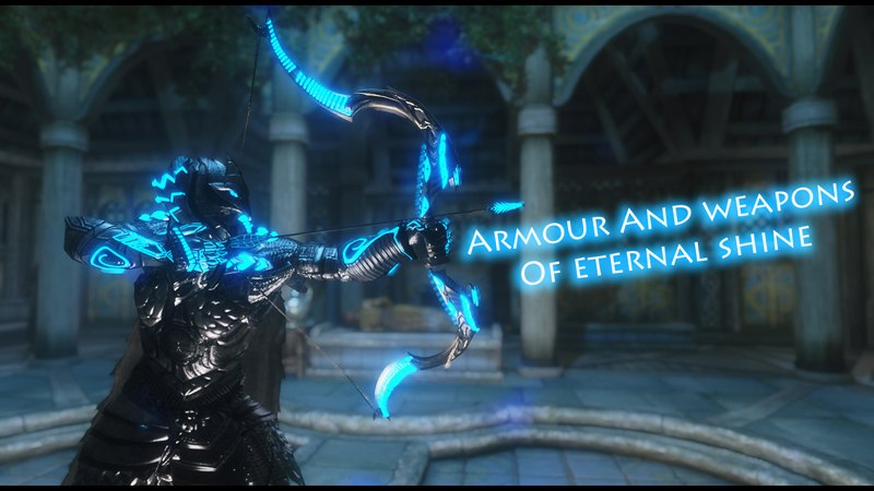 Equipment Of Eternal Shine - Elven Overhaul at Skyrim Nexus