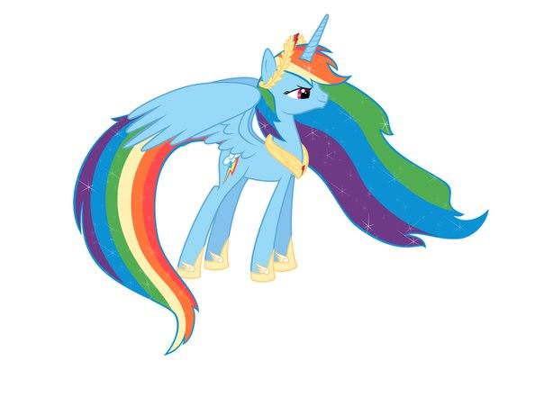 Скажите что радуга красивая