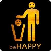 Майка Будь счастлив - это прекрасный способ быть собой.