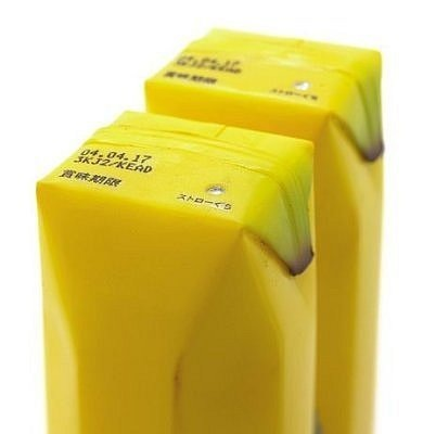 Коробка для бананового сока