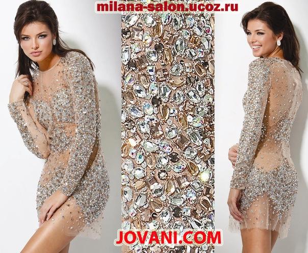 Фото платья с камнями