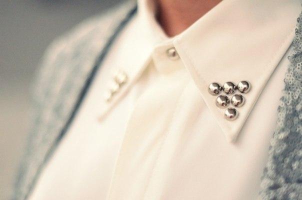Украшения к рубашке своими руками 35