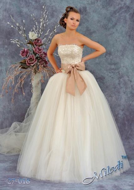 Коллекция 5. Арт:4197.  Свадебные платья.  НовиасМода.