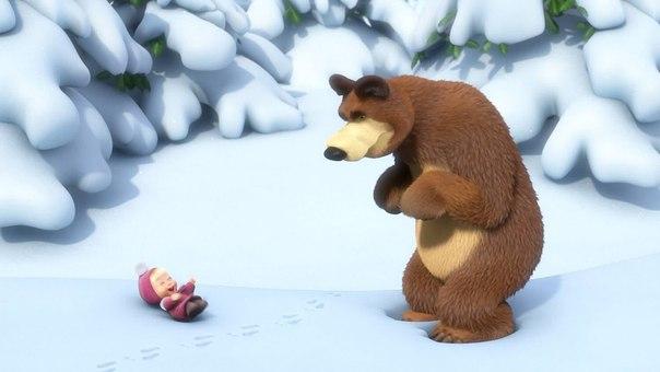 """Хочу как  """"Маша и Медведь """": я такая маленькая, наглая и"""