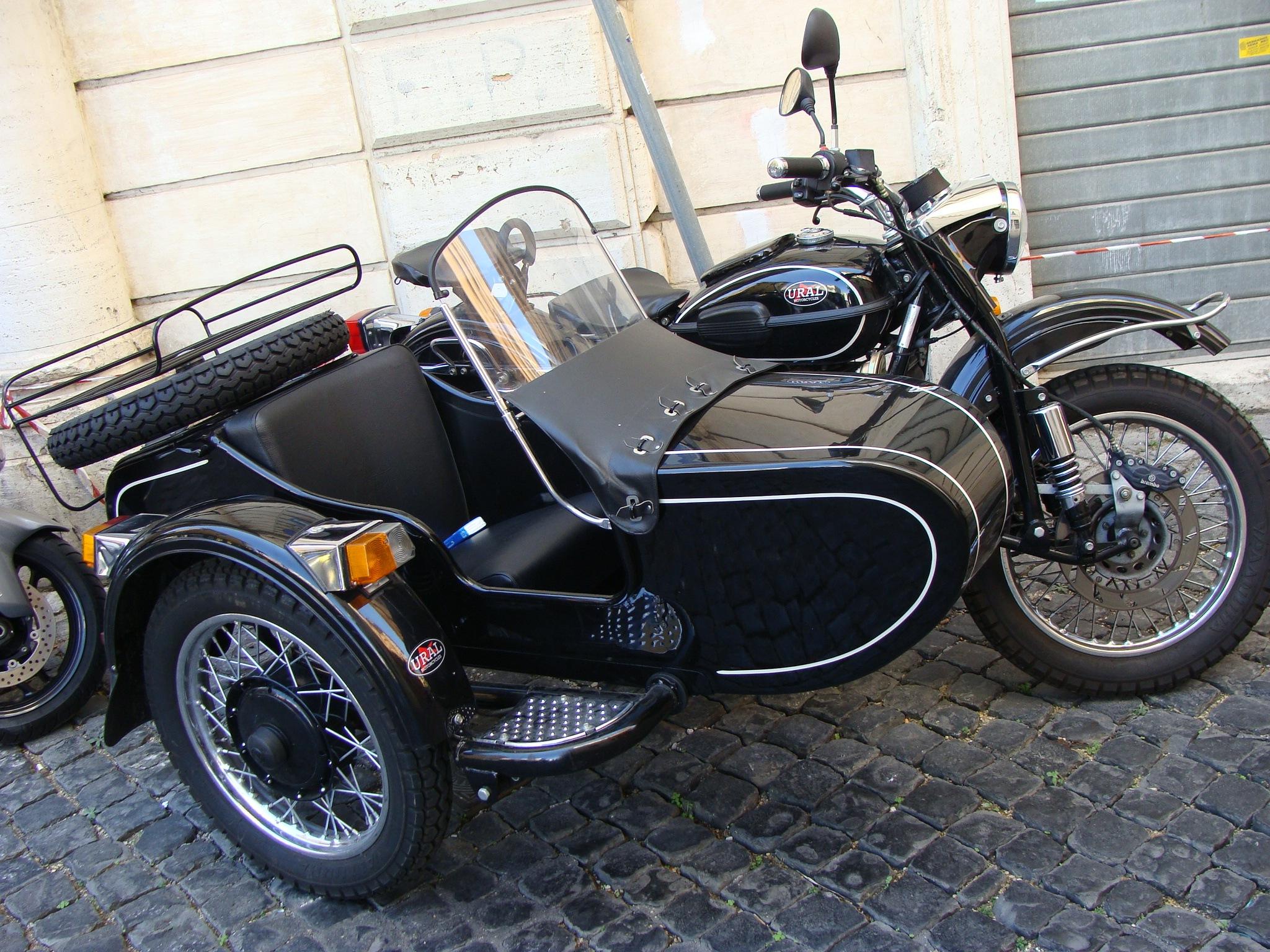 Тюнинг мотоцикла урал с коляской своими руками 61