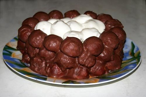 Торт гнездо глухаря рецепт с фото пошагово